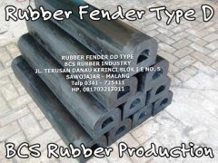 Rubber Fender Type D